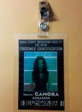 Guardians of the Galaxy  ID Badge- Camora Assassin  costume cosplay
