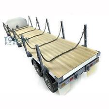 Hercules 1/14 RC 2Axle Tractor Flatbed Semi Trailer for DIY TAMIYA Truck