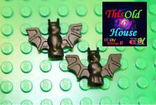 LEGO 30103 BAT FLYING HALLOWEEN CREATURE W/WINGS/FANGS X2 BLACK PART 4106513 NEW