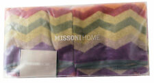 MISSONIHOME LIMITED EDITION PETE 156 - 2 HAND TOWELS SET 40x60 SET DUE OSPITI