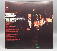Vintage Robert Goulet on Broadway Volume 2 Record Album Vinyl LP jds