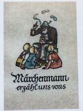 Märchen. - Breitschafter, Andreas. Märchenmann erzähl uns was. EA