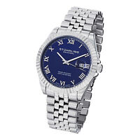 Stuhrling Original Mens 599G Symphony Regent Coronet Stainless Steel Watch