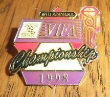 VIFA - Valley International Foosball Association - TORNADO 1998 Championship 2nd