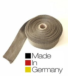 30m 30 Meter ZINRAM BASALT Hitzeschutzband made in Germany