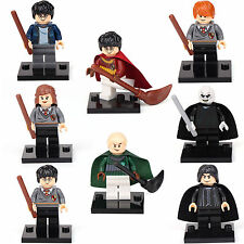 Harry Potter Ron Snap Hermione Malfoy Voldemort 8 Minifigures Building toys