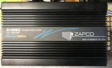 Old School Zapco Z100S2 2 Channel amplifier,Rare,SQ,USA,vintage