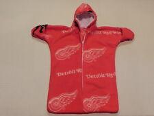 NHM NHL DETROIT REDWINGS Printed FLEECE BABY BUNTING COAT Newborn to 6 Months