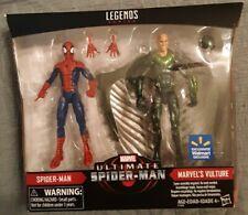 Marvel Legends Ultimate Spider-Man Vulture Figure 2 Pack Walmart Hasbro Parker