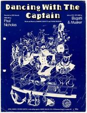 Paul Nicholas Dancing With The Captain 1976 Sheet Music