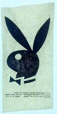Vintage 60s Playboy Bunny Iron On Transfer Hugh Hefner  4x7 inches **RARE**