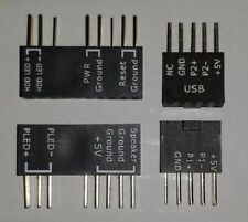 2 Stück Q-Connector Set Asus Z97 deluxe + Pro OVP NEU 2x new USB PW-SW Reset