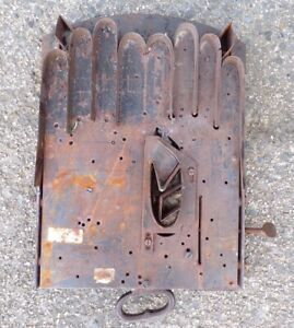 Antique Vintage Glove Making Cutter Tool Industrial Art Ashley Brothers Yeovil