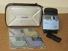 Sony Md Walkman Mz-R910 MiniDisc & Extras. Tested Working. Fast Free Shipping