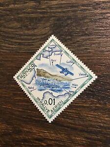 Stamps Monoco 1964 1er RALLYE AERION