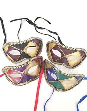 50 MASQUERADE PARTY MASK MARDI GRAS CARNIVAL HALLOWEEN MASKS LOT OF 50 MASKS C3