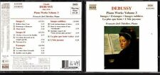 CD 1260  DEBUSSY  PIANO WORKS VOLUME 3