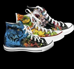 Custom Print on Demand Graphic High Top Tennis Athletic Sneakers