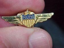 RUPA Pilot Association Tie tack tac Wings Pin  (16L1)
