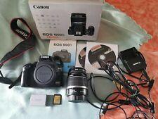 Canon EOS 1000d-cámara digital-carcasa/Body + EF-S 18-55 mm 1:3. 5-5,6 is +