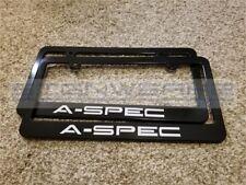 Acura Aspec License Plate Frame Racing RDX ILX TLX NSX Type S CSX - Pair