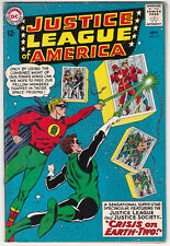 Justice League Of America #22 F+ 6.5 Justice Society Crisis On Earth-Two!