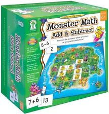 Key Education Publishing Monster Math Add and Subtract Easy learning Game New