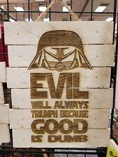 Spaceballs custom wood sign poster