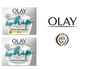 Olay Luminous Whip Light As Air Touch Active Moisturiser and Moisturiser SPF 30