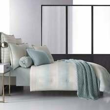 Five Queens Court Vance Twill Cotton 4-Piece Comforter Set Aqua n/a