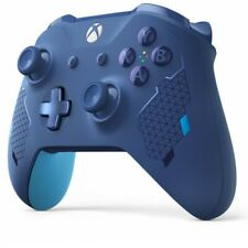 NEW XBox One X Official Sport BLUE Limited Wireless Bluetooth Controller (HK)