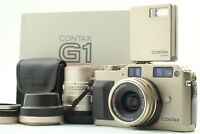 【MINT++ in BOX】 Contax G1 35mm Rangefinder 28mm 90mm f/2.8 TLA140 From Japan#505