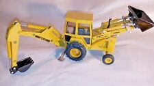 Ford 555A Backhoe/Loader By ERTL 1/32nd Scale Die Cast Tractor Yellow 1564G