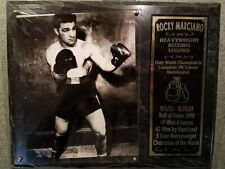 Rocky Marciano Boxing Hall of Fame Photo Plaque