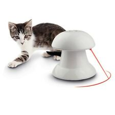Pet Dog Puppy Cat Automatic Dart Laser Light Exercise Interactive Teaser Fun Toy