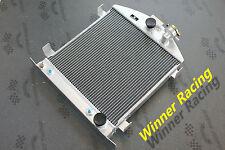 "21.5"" aluminum alloy radiator Ford hot rod chopped w/Chevy SB V8 engine 30-32"