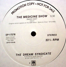"DREAM SYNDICATE - The Medicine Show - '84 WLP 12"" Club Single - NM - neo psych"