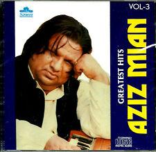 GREATEST HITS OF AZIZ MIAN QAWAL - VOL-3 - BRAND NEW  CD - FREE UK POST