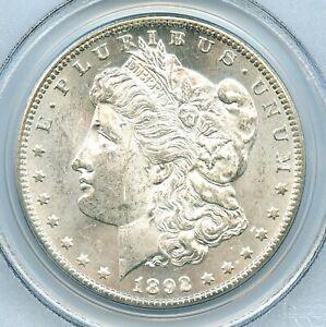 1892-CC Morgan Dollar, PCGS MS62