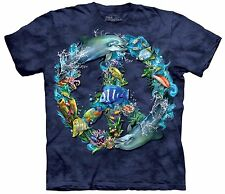 The Mountain Unisex Youth Graphic Tee, Underwater Peace, XL