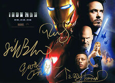 Iron Man 2008 - Movie Full Cast Photo - Avengers - MARVEL Comics - Disney