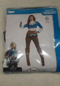 Disguise Women's The Legend of Zelda Breath of the Wild MEDIUM Adult Costume New