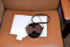 sac neuf rond noir hm  laniere chaine noeud devant brille