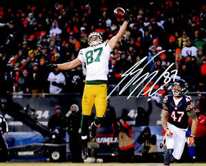 Packers Receiver JORDY NELSON Signed 8x10 Photo #8 AUTO - SB XLV Champ -