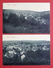 2 X AK Thum Erzgebirge nel 1910 per le viste locali (32172
