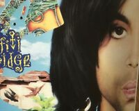 ♥ PRINCE ♥ 2 x Original CD BOOK Prints PURPLE RARE Doppelseitig Unbenutzt