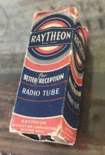 Vintage Raytheon Electric Radio Tube 7Y4 IN BOX