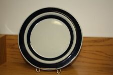 "Vintage ARABIA FINLAND ULLA PROCOPE ANEMONE BLUE 8"" Salad Plate - Have 9"