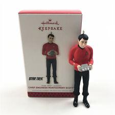 Hallmark Keepsake Ornament 2013Star Trek Chief Engineer Montgomery Scott NO BOX