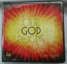 "TONY EVANS ""OUR GOD REIGNS"" VOL 1 - 8-CD-SET - BRAND NEW"